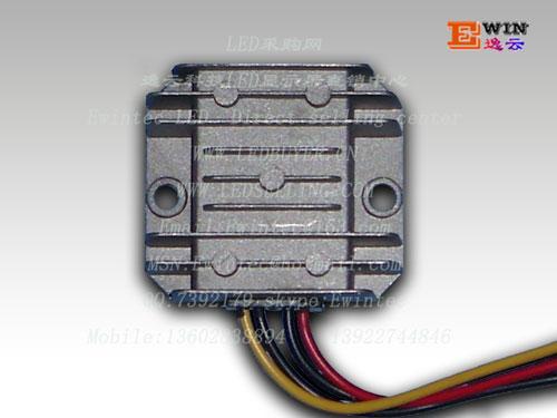 厂家直销led显示屏防水车载电源12v转5v 5a 24v转5v